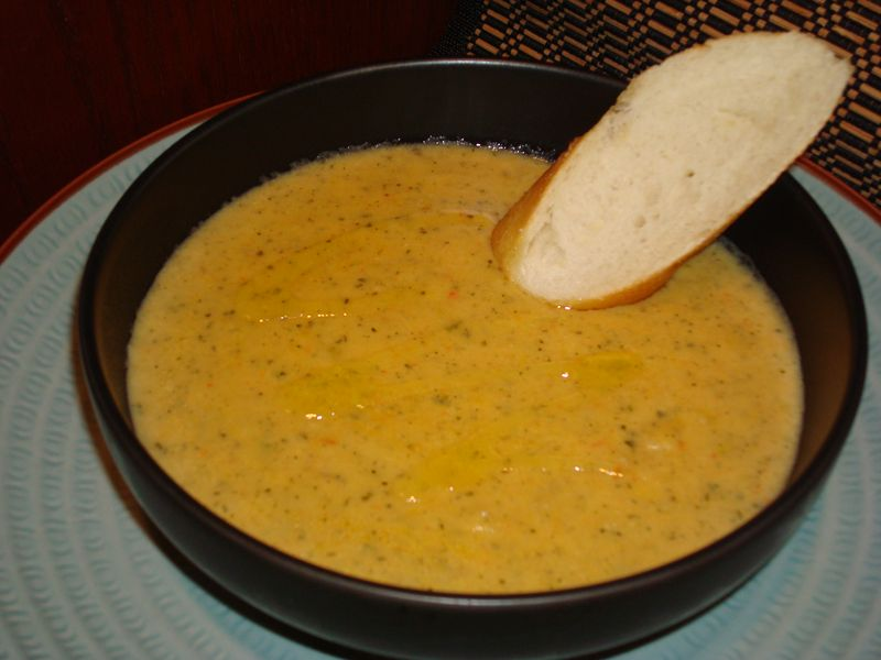 Roasted Red Pepper & Potato Soup