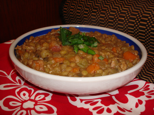 Lentil Stew with Sausage - The Food Wino